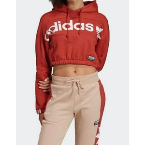 Adidas set Vocal Cropped Hoodie jogger set
